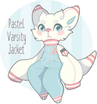 (SC) Pastel Varsity Jacket OTA (Closed)