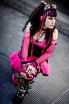 Pink turns...