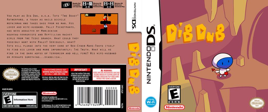 Dig Dug by DickQuint