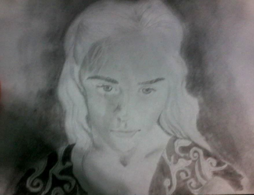 Daenerys Stormborn by Therunawayshadow
