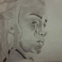 khaleesi by Therunawayshadow