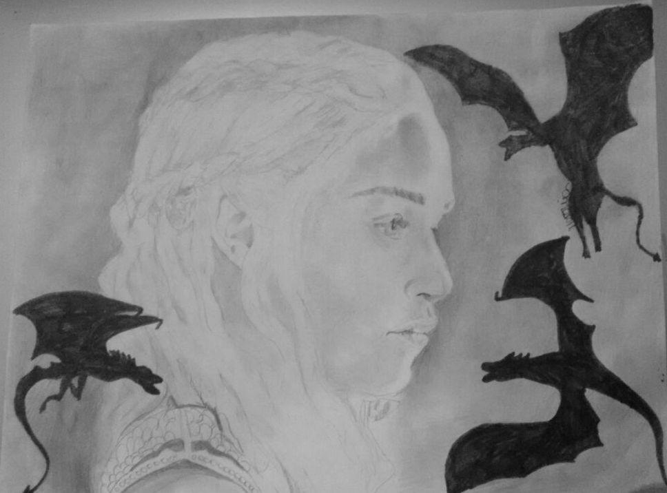 Daenerys Targaryen (Emilia Clarke) by Therunawayshadow