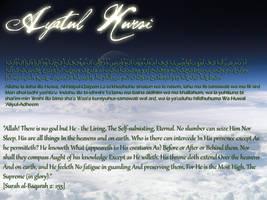 Ayatul Kursi Background