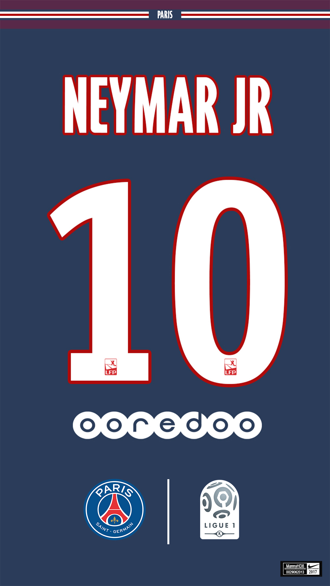 Paris Saint Germain Kit Neymar Jr 1080x1920 By Mannyhd29 On Deviantart