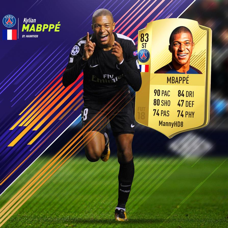 Mbappe Fifa 18
