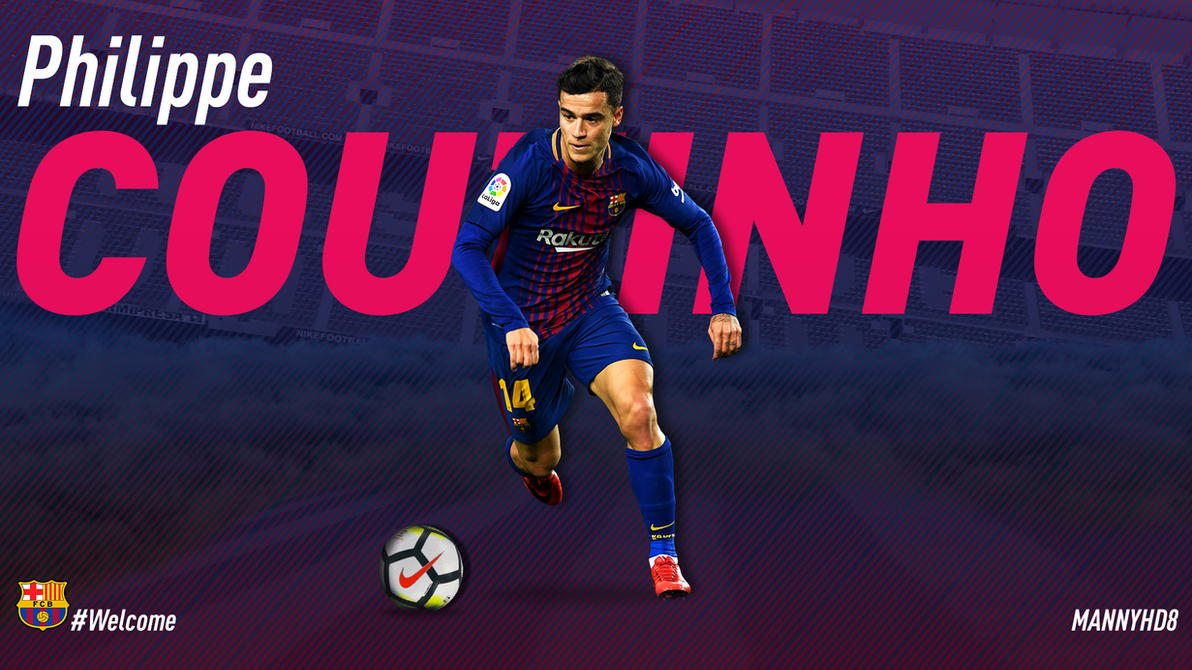 philippe coutinho - fc barcelona wallpapermannyhd29 on deviantart