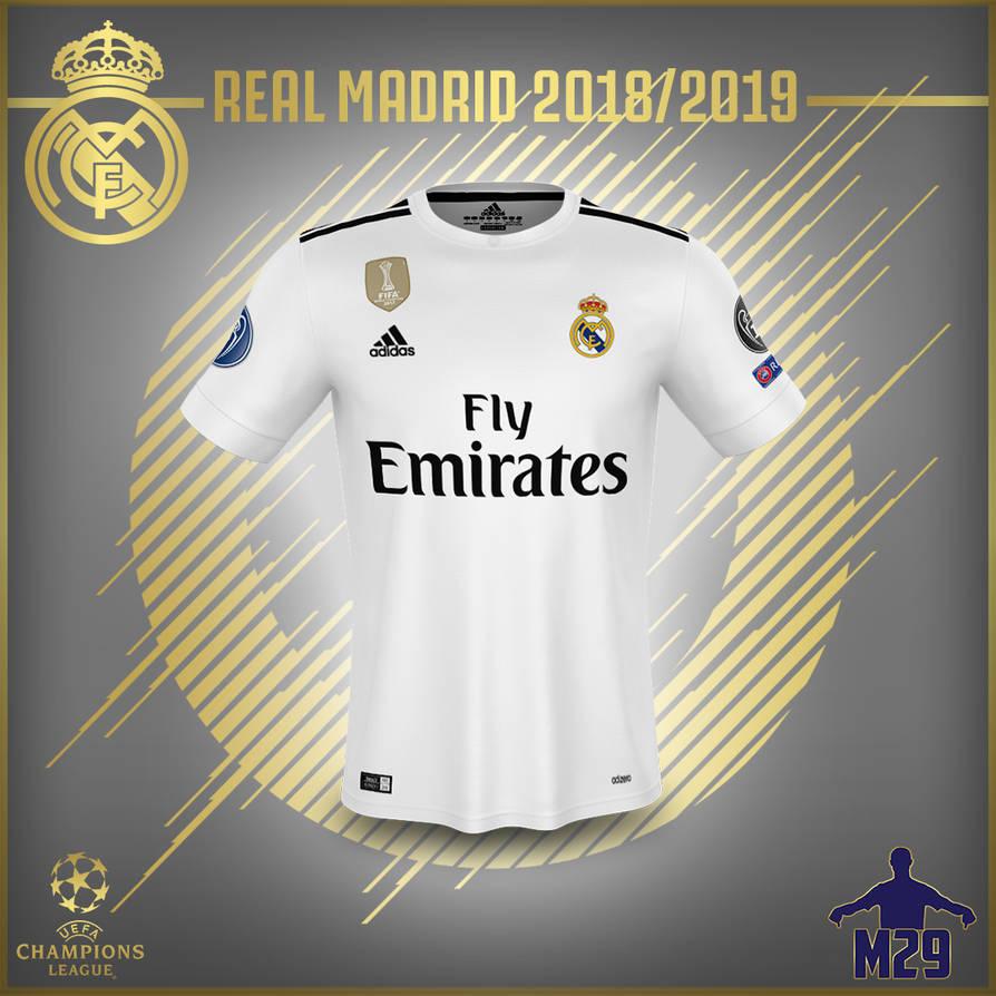 Real Madrid 18 19 Kit Adidas Wallpaper By Mannyhd29 On Deviantart