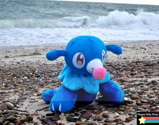 Popplio Plush by HappyKittyPlushies