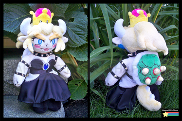 Bowsette Plush by HappyKittyPlushies
