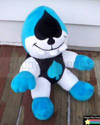 Lancer Mini Plush by HappyKittyPlushies