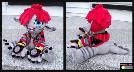 Monster Sora Plush by HappyKittyPlushies
