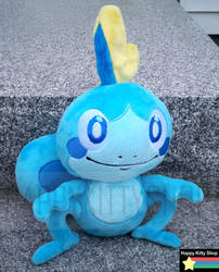 Sobble Plush by HappyKittyPlushies