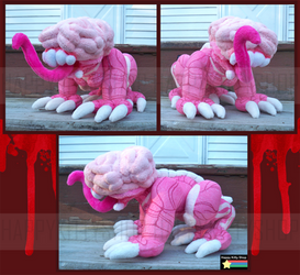 Licker Plush by HappyKittyPlushies