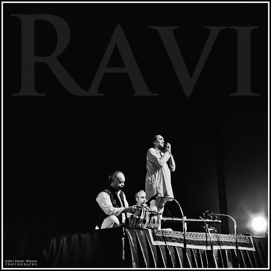 Pandit Ravi Shankar by DavidWegley