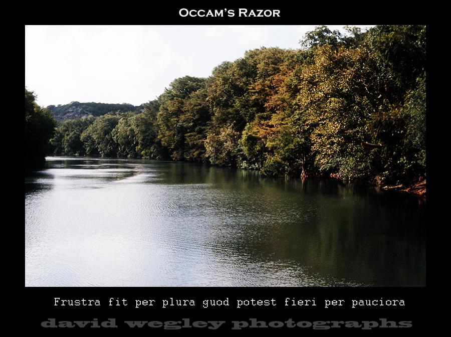Occam's Razor by DavidWegley