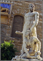 Hercules and Cacus by DavidWegley