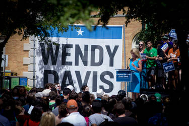 Wendy Davis at UNT