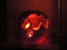 Nightmare night pumpkin by Zainx10