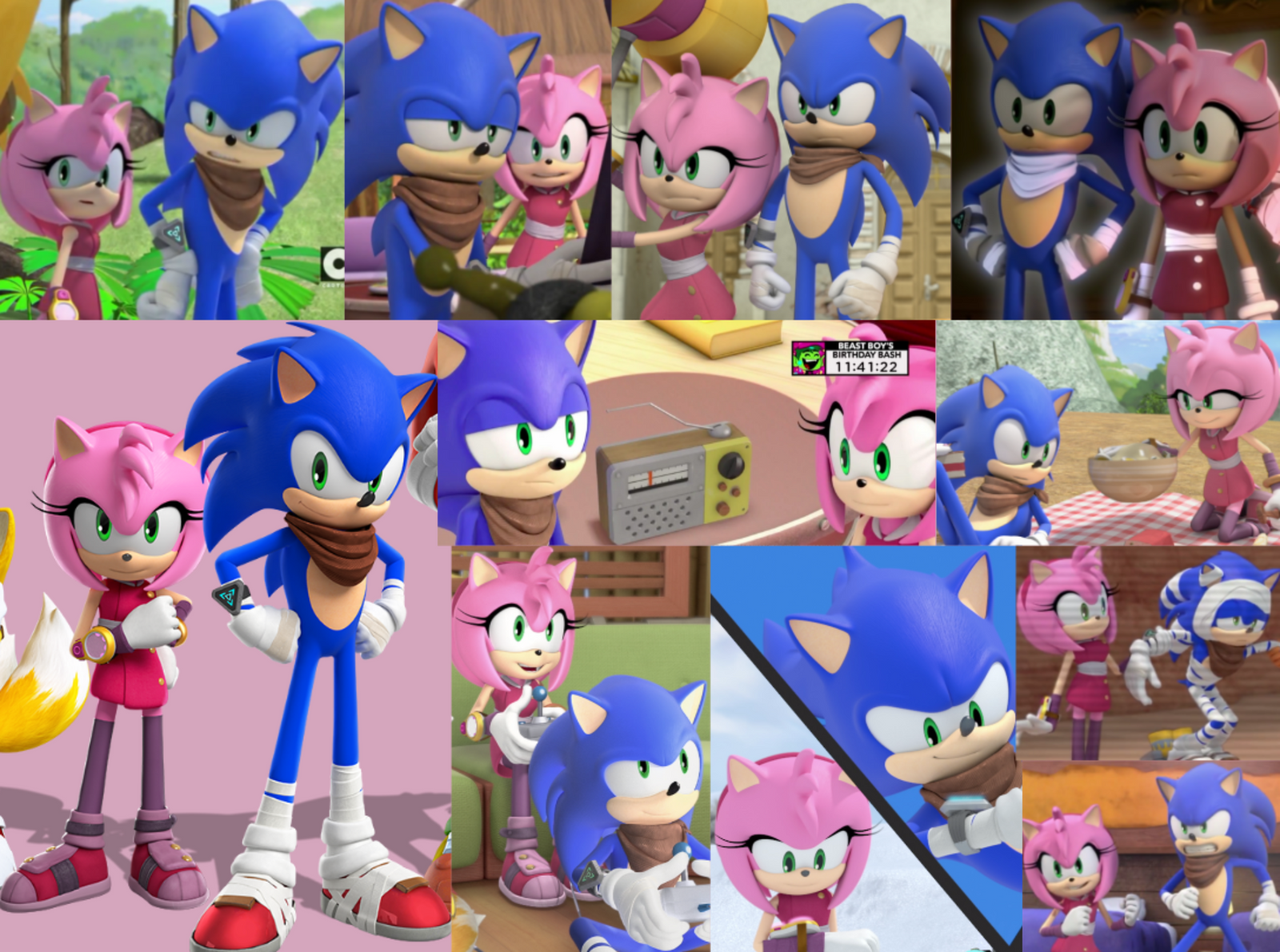 sonamy boom collage by sonicboomgirl23 on deviantart