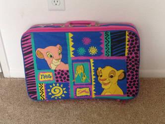 Vintage 90s Nala and Simba suitcase by Nala1994