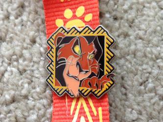 Scar Lanyard pin by Nala1994