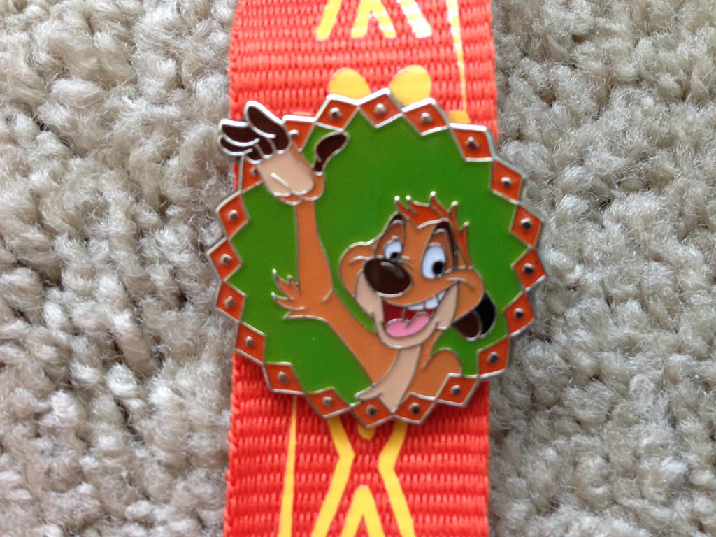 Timon Lanyard pin by Nala1994