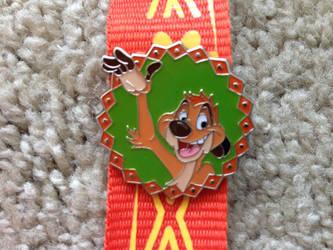 Timon Lanyard pin by Nala1994