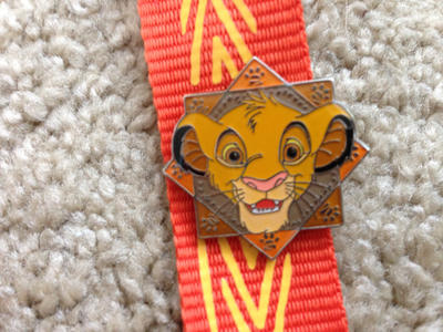 Simba lanyard pin by Nala1994