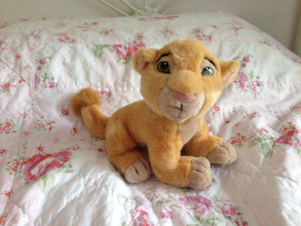 Baby Nala sitting plush by Nala1994