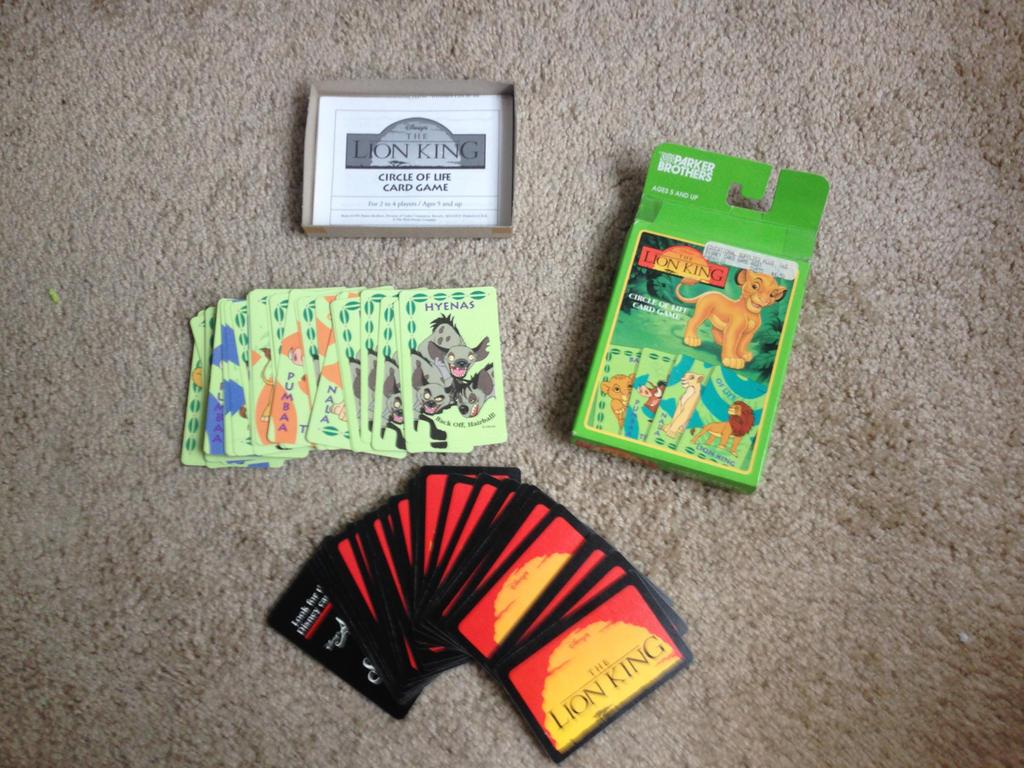 Lion King Circle of Life card game by Nala1994
