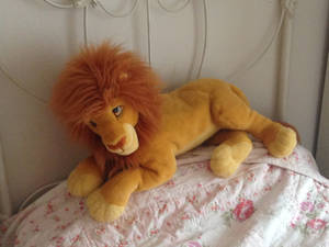Large Mufasa Plush