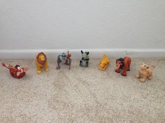 1994 Lion King Burger King Toys whole set by Nala1994