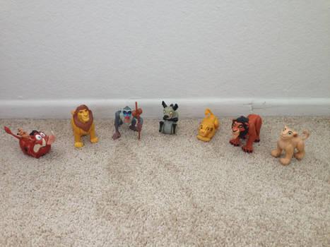 1994 Lion King Burger King Toys whole set