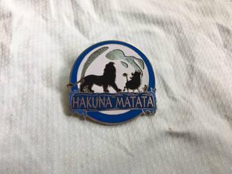 Hakuna Matata lanyard pin by Nala1994