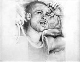 Brad Pitt Portrait
