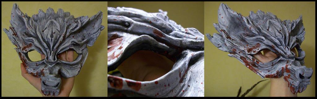 Wolf mask ( g.o.t. inspired) by idromy