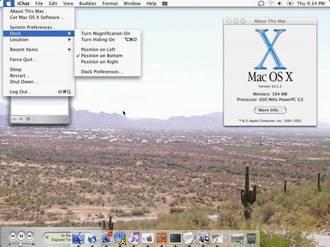 Current Desktop Mac OSX
