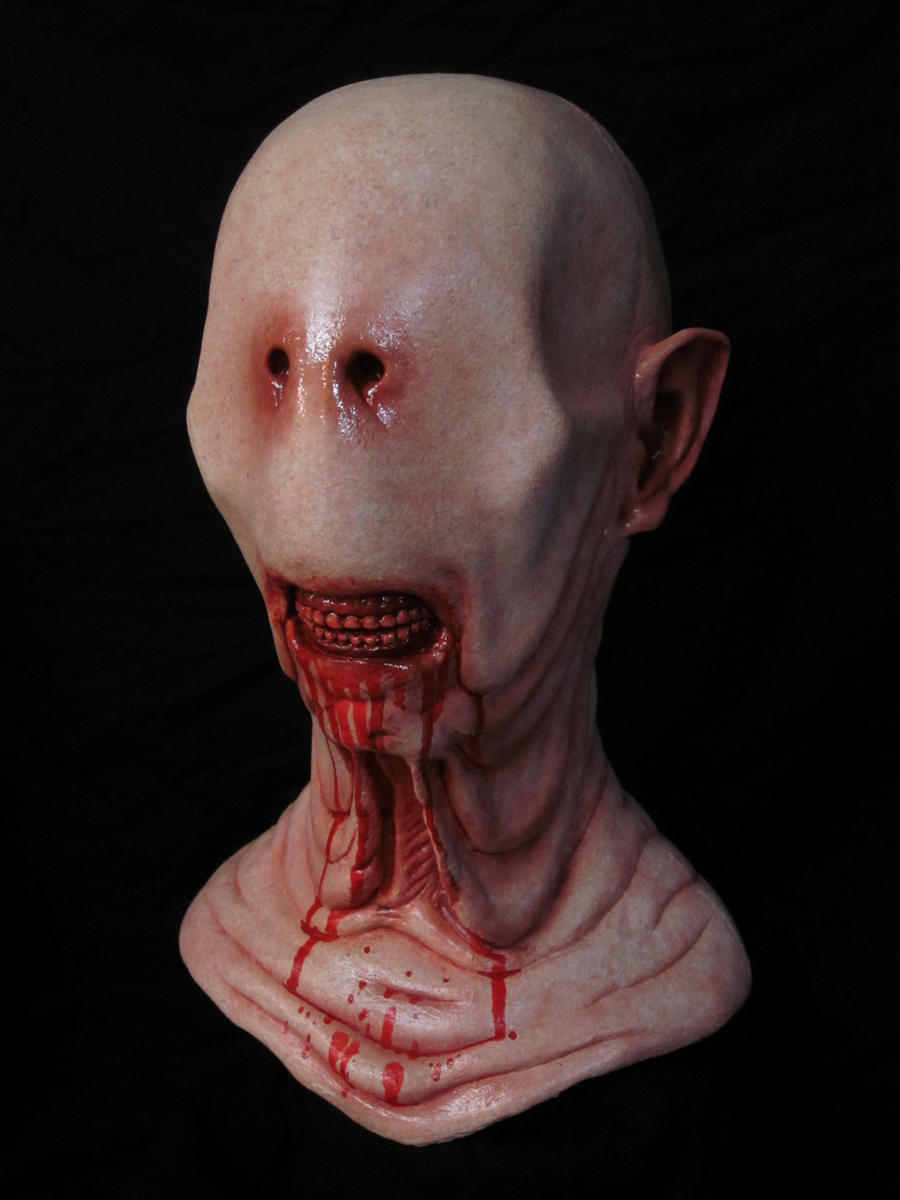 Pale Man Bust Pans Labyrinth by CarnevaleObscura