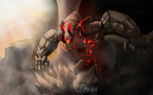 Furious Golem .. by PustyXoX
