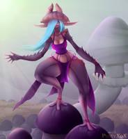 Mushroom elf -1- dressed by PustyXoX