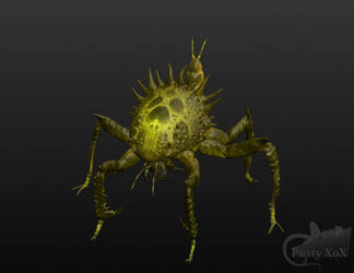 3d insect creature model... by PustyXoX