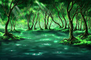 Mystical wood by Develv