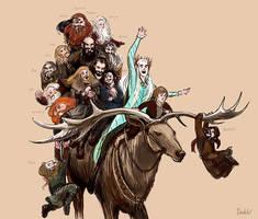 Mirkwood Ride by Develv