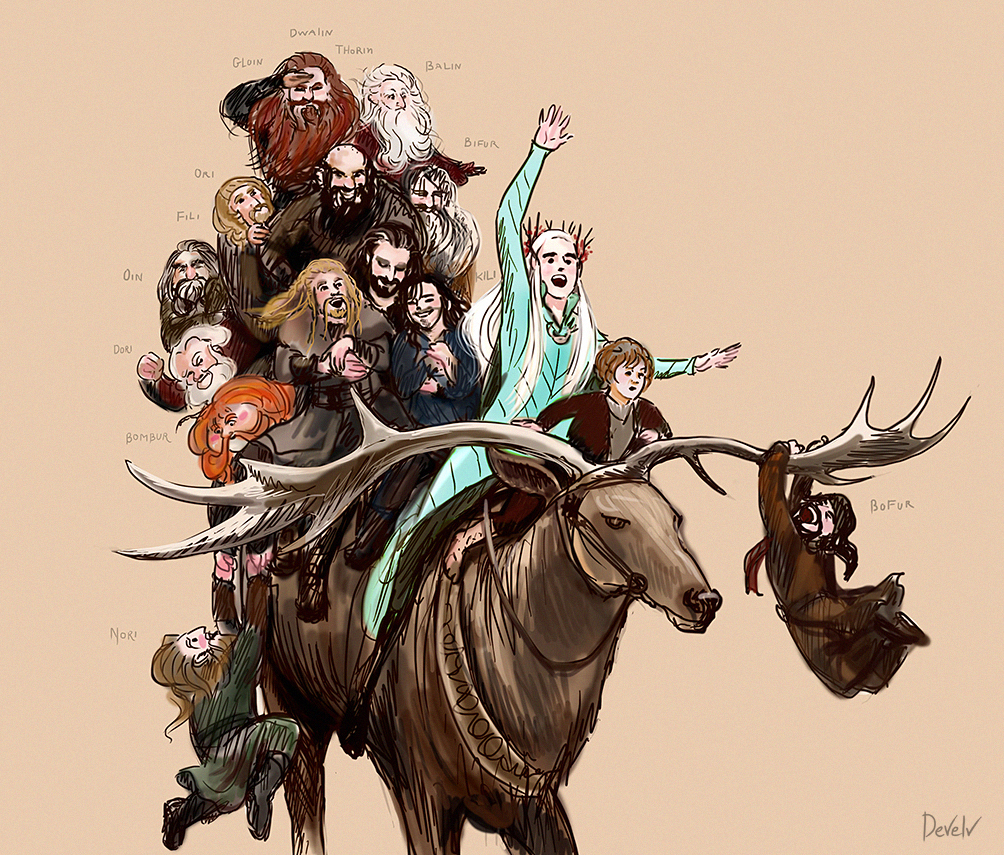 Mirkwood Ride by Develv