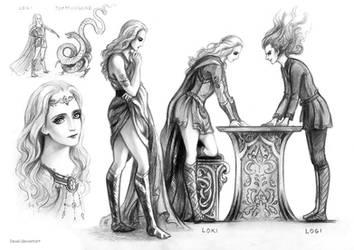 Loki and Logi by Develv