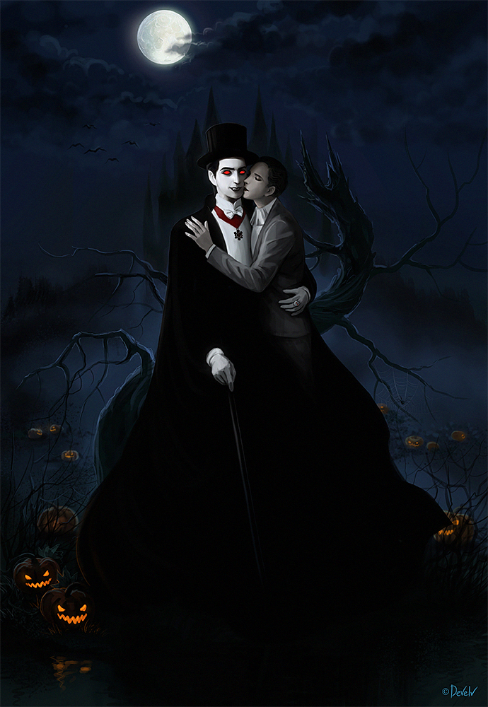 Vlad Dracula and John Harker's Vampire Halloween by Develv on ...