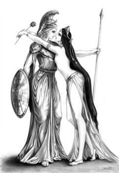 The gods - Alexander and Bagoas