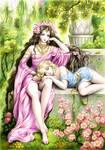 Alexander and Bagoas in the garden