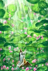 Dream - Lotus grove by Develv