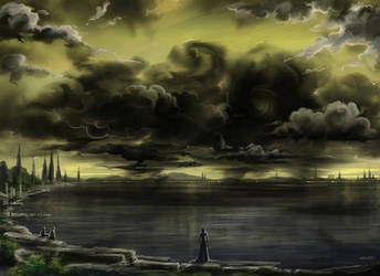 Black clouds by Develv